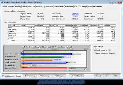 Complete Construction Job Cost Accounting Powerful, Easy-to-use, with Payroll