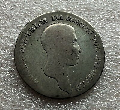 German States Prussia 1814-A Thaler Circulated