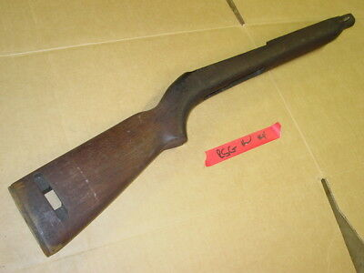 Original WWII M1 Carbine Parts Stock Saginaw RSG High Wood