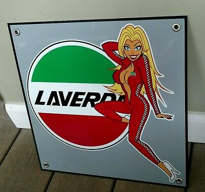 Laverda Motorcycle sign ...#2