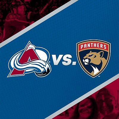 Florida Panthers vs Colorado Avalanche 1 ticket december 6 2018 section 130