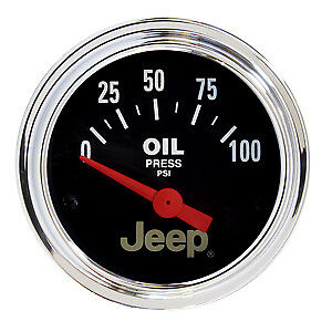 AutoMeter 880240 Fits Jeep (R) Gauge Oil Pressure