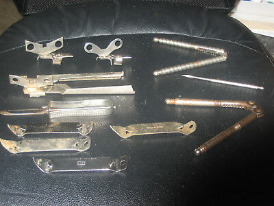 Vintage Ekco & Travco & HMO 11 Piece Lot Nut Crackers - Pick - Openers Free Ship