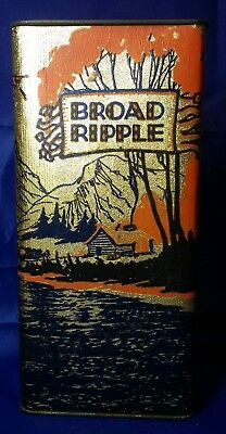 Sealed• Pre Prohibition  BROAD RIPPLE Whiskey Medicinal Pint Bottle