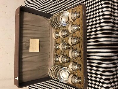 Sterling silver 12 pieces Tea set or expresso