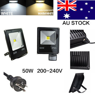 Garden IP65 50W Cool/warm white LED Flood Light Garden AC200-240V 240V AU Plug