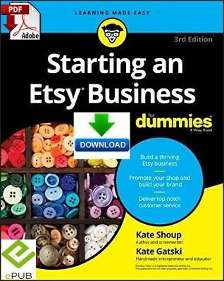 Starting an Etsy Business For Dummies - read on PC & Phone - PDF & ePub Download