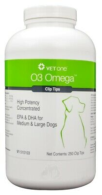 O3 Omega Clip Tips for Medium & Large Dogs (250 count)