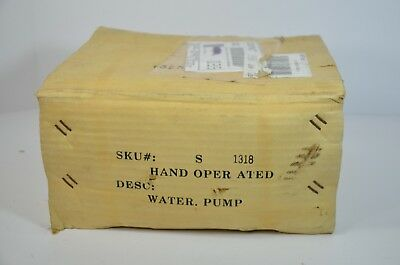 Brand New Vintage Harbor Freight Hand Operated Cast Iron Well Water Pump #1318