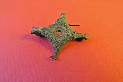 Rare Ancient Roman Fibula With Pin