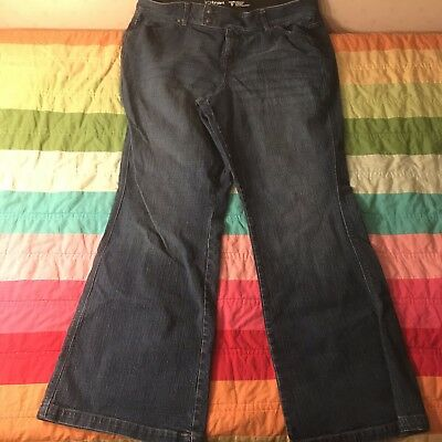 Lane Bryant Tighter Tummy Technology Flare Jeans Size 18 A813