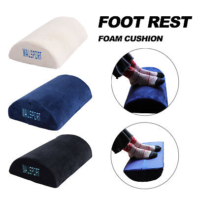 Foot Rest Foam Cushion Office Home Leg up Memory Pillow Non-Slip Ergonomic