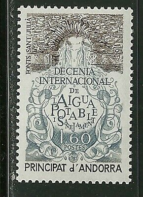 Andorra, French Scott #292 Mint Never Hinged Nh