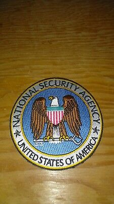 NSA Patch National Security Agency Patch