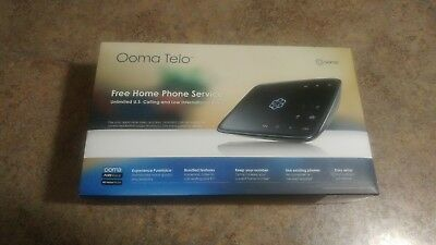 Ooma Telo Home VOIP Phone Service Used Excellent Condition w/ activation code