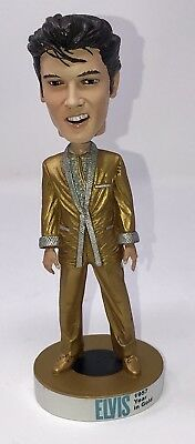 NEW Elvis Presley Bobblehead 1957 Year in Gold