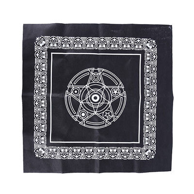 49*49cm pentacle tarot game tablecloth board game textiles table cover*BRIC