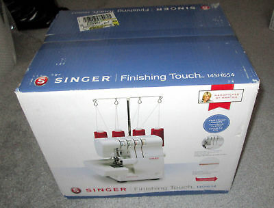 SINGER 440SH440 FINISHING Touch 40 Thread Serger Machine 4040 Unique Singer 14sh654 Finishing Touch Serger Sewing Machine