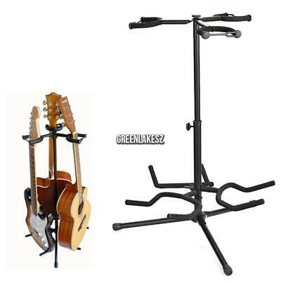 Floor Guitar Stand Holder Folding Tripod Rack For Electric Acoustic Guitar