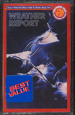Weather Report - Weather Report (Cassette Tape) **BRAND NEW/STILL SEALED**