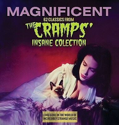 Magnificent: 62 Classics From The Cramps Insane Co (CD Used Very Good)