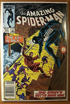 The Amazing Spider-Man #265 (First Apperance Of Silver Sable) Mid to High Grade