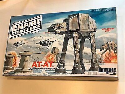 Vintage MPC IMPERIAL WALKER AT-AT Model Kit EMPIRE STRIKES BACK 1981 Star Wars