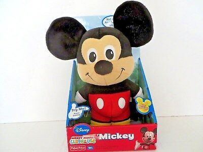 Disney - Mickey Mouse Clubhouse Talking Mickey From Fisher Price