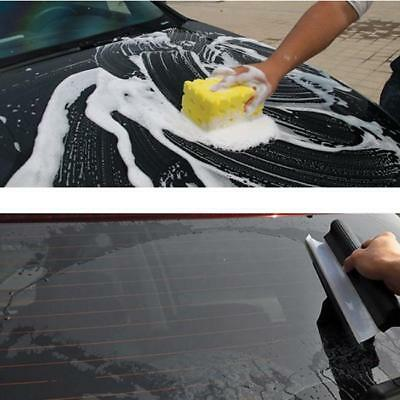 Silicone Drying Wiper Blade Windscreen Car Wash Window Cleaning Squeegee MA