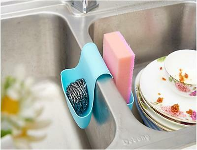 KITCHEN SINK CADDY Dish Washing Sponge Holder For Double ...