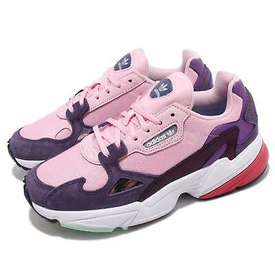 competitive price a57c0 b4631 adidas Originals Falcon W Pink Purple White Red Women Lifestyle Shoes BD7825