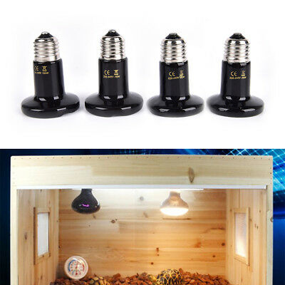 thickened infrared ceramic emitter heat light bulb lamp for reptile pet brooder