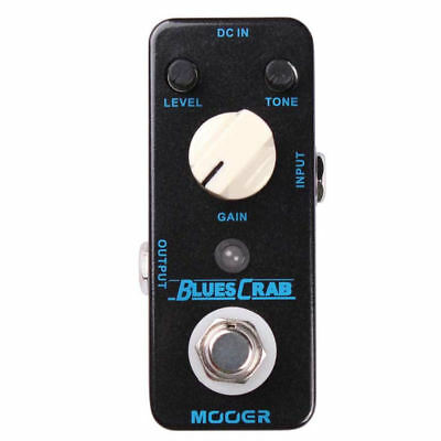 Mooer Blues Crab- Classic Blues Overdrive True Bypass New