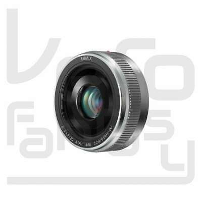 Genuino Panasonic LUMIX G 20mm f/1.7 II ASPH. Lens (Silver)