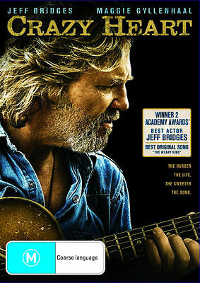 Crazy Heart (DVD, 2010) REGION-4- NEW AND SEALED- FREE POST IN AUSTRALIA