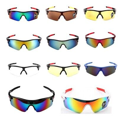 Men's Sport Goggles Cycling Bicycle Sunglasses Outdoor Driving Eyewear Glasses