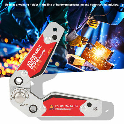 Magnetic Welding Holder Welder Adjustable Angle Fixed Fixture Tool 20°-200° oe
