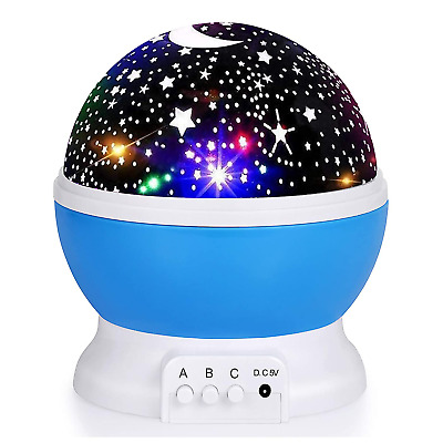 PLANETARIUM PROJECTOR FOR Children with Rotating Stars Night