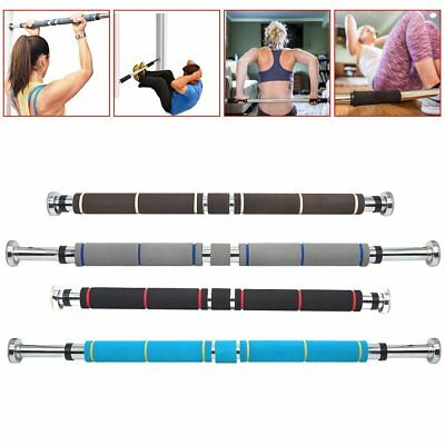 Chin Up Pull Up Door Gym Exercise Bar Home Training Fitness Workout Strenght Bar