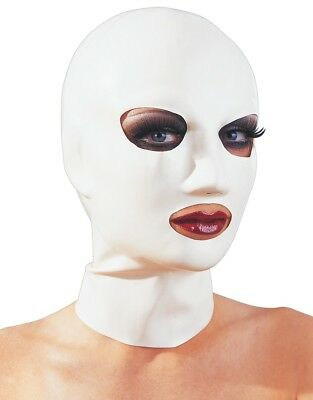 Maschera in latex bianco - Late X Late X Latex Mask Маска латексная