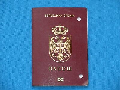 BIOMETRIC PASSPORT FROM SERBIA with morocco visa