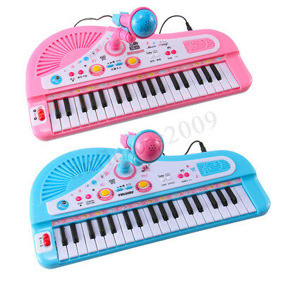 37 Key Kids Electronic Keyboard Piano Musical Toy w/ Microphone Children's Toys