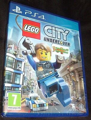 LEGO City Undercover Playstation 4 PS4 NEW SEALED Free UK p&p UK Seller