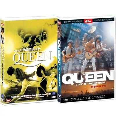 QUEEN Bohemian Rhapsody Movie DVD 2 disk (Live at Wembley, Live in Montreal) New