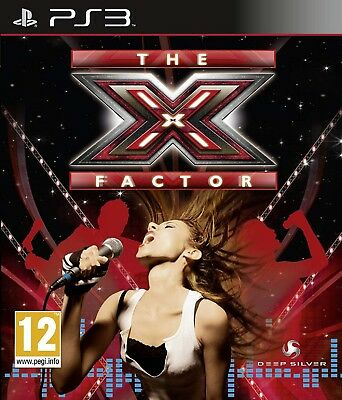 X-FACTOR PS3 PlayStation 3 Video Game Original UK Release New Sealed