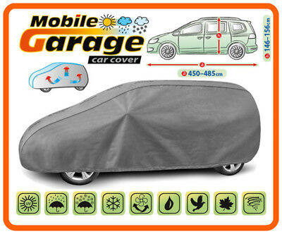 Heavy Duty Car Cover for Mazda MPV Breathable UV Protection all weather