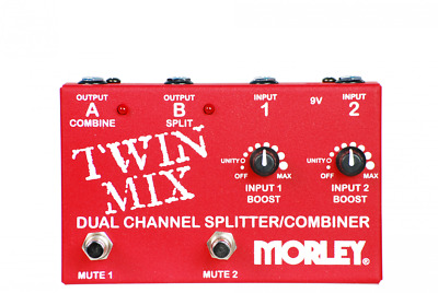 Morley Twin Mix Footswitch DEMO