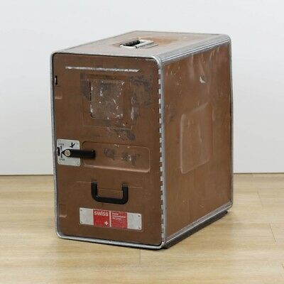 Flugzeugtrolley Box, Original, Catering SWISS Standard Unit