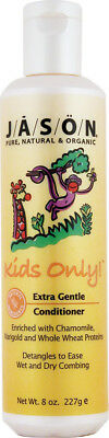 Kids Only Extra Gentle Conditioner, Jason Natural Products, 8 oz
