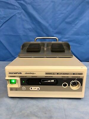 """Olympus SonoSurg G2 Generator with MAJ-1243 Footswitch - """"Excellent Condition"""""""
